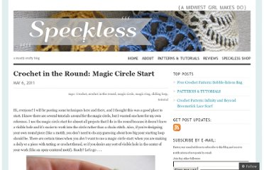 http://speckless.wordpress.com/2011/05/06/crochet-in-the-round-magic-circle-start/