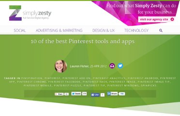 http://www.simplyzesty.com/social-media/10-of-the-best-pinterest-tools-and-apps/