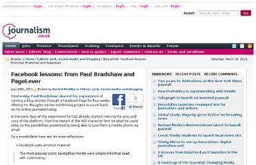 http://blogs.journalism.co.uk/2011/06/28/facebook-lessons-from-paul-bradshaw-and-pagelever/