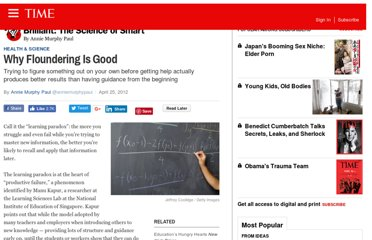 http://ideas.time.com/2012/04/25/why-floundering-is-good/
