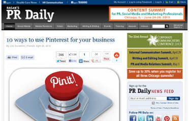 http://www.prdaily.com/Main/Articles/10_ways_to_use_Pinterest_for_your_business__11431.aspx