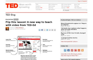 http://blog.ted.com/2012/04/25/flip-it-a-new-way-to-teach-with-video-from-ted-ed/