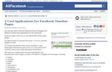 http://allfacebook.com/facebook-timeline-pages-apps_b80299