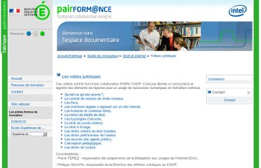 http://fabrique.pairformance.education.fr/index.php/documentation/videos_juridiques