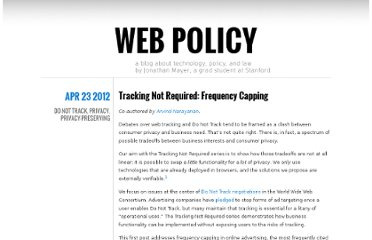 http://webpolicy.org/2012/04/23/tracking-not-required-frequency-capping/