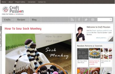 http://www.craftpassion.com/2012/04/how-to-sew-sock-monkey.html