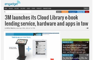 http://www.engadget.com/2012/04/25/3m-cloud-library-ebook-lending-service/