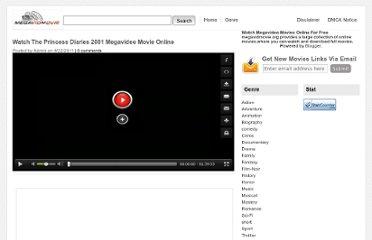 Watch The Princess Diaries 2001 Megavideo Movie Online The Princess Diaries: ...