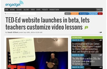 http://www.engadget.com/2012/04/26/ted-ed-website-launches-in-beta-lets-teachers-customize-video-l/