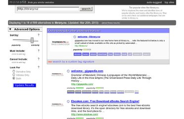 http://www.moreofit.com/similar-to/library.nu/Top_10_Sites_Like_library.nu/