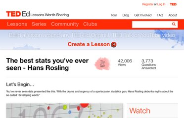 http://ed.ted.com/lessons/hans-rosling-shows-the-best-stats-you-ve-ever-seen