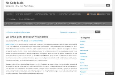 http://jesrad.wordpress.com/2012/04/26/lu-wheat-belly-du-docteur-william-davis/