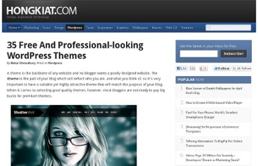 http://www.hongkiat.com/blog/free-professional-wordpress-themes/
