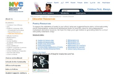 http://schools.nyc.gov/academics/englishlanguagearts/educatorresources/poetry%2bresources.htm