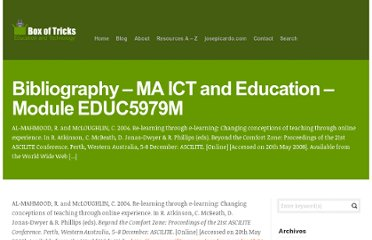 http://www.boxoftricks.net/bibliography-ma-ict-and-education-module-educ5979m/