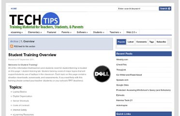 http://blogs.henrico.k12.va.us/techtips/category/student-training/1-overview/