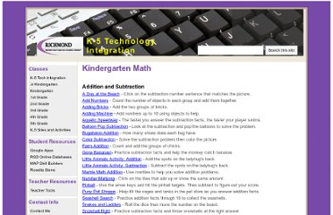 https://sites.google.com/a/myrichmondschool.org/k-5-technology-integration/kindergarten-math