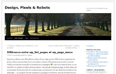 http://designpixelsrobots.com/web-design/difference-entre-wp_list_pages-et-wp_page_menu/
