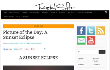 http://twistedsifter.com/2012/04/picture-of-the-day-a-sunset-solar-eclipse/