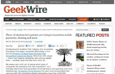 http://www.geekwire.com/2012/16-studentled-upstarts-shake-mobile-payments-farming/