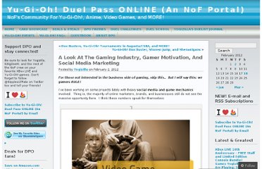 http://duelpassonline.wordpress.com/2012/02/02/a-look-at-the-gaming-industry-gamer-motivation-and-social-media-marketing/