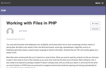 http://phpmaster.com/working-with-files-in-php/