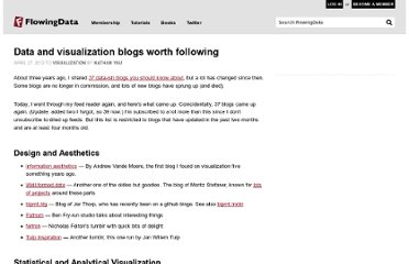http://flowingdata.com/2012/04/27/data-and-visualization-blogs-worth-following/