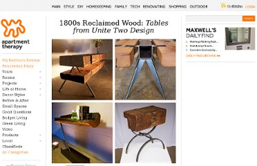 http://www.apartmenttherapy.com/1800s-reclaimed-wood-tables-fr-145812