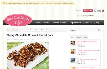 http://keepitsweetdesserts.com/chewy-chocolate-covered-pretzel-bars/