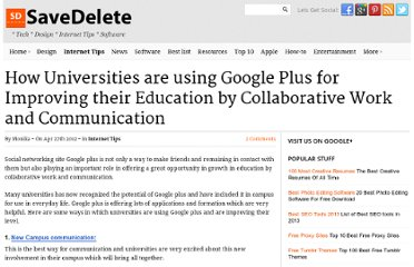 http://savedelete.com/how-universities-are-using-google-plus-for-improving-their-education-by-collaborative-work-and-communication.html
