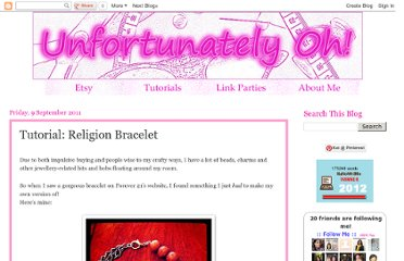 http://unfortunatelyoh.blogspot.com/2011/09/tutorial-religion-bracelet.html