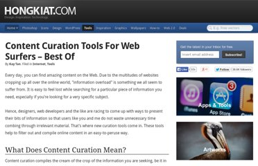 http://www.hongkiat.com/blog/top-content-curation-tools/