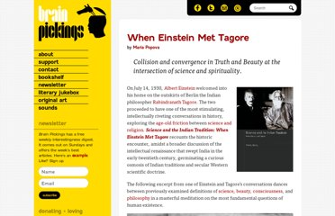 http://www.brainpickings.org/index.php/2012/04/27/when-einstein-met-tagore/