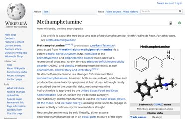 http://en.wikipedia.org/wiki/Methamphetamine