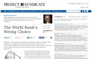 http://www.project-syndicate.org/commentary/the-world-bank-s-wrong-choice