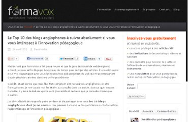 http://www.formavox.com/top-10-blogs-anglophones-innovation-pedagogique