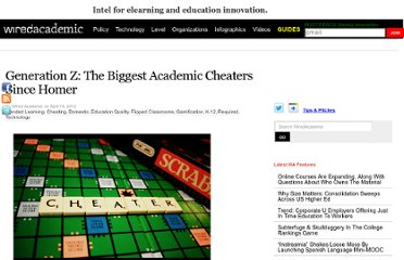 http://www.wiredacademic.com/2012/04/generation-z-the-biggest-academic-cheaters-since-homer/