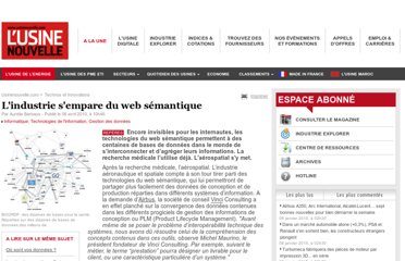 http://www.usinenouvelle.com/article/l-industrie-s-empare-du-web-semantique.N128850