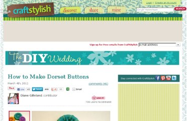 http://www.craftstylish.com/item/42688/how-to-make-dorset-buttons/page/6