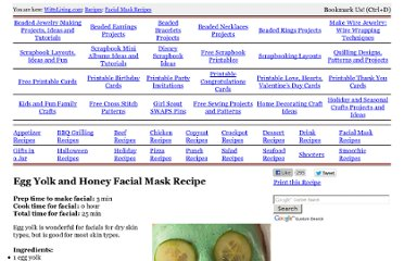 http://www.wittyliving.com/recipes/facial-mask-29.html