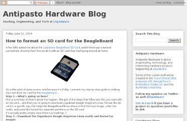 http://antipastohw.blogspot.com/2010/06/how-to-format-sd-card-for-beagleboard.html