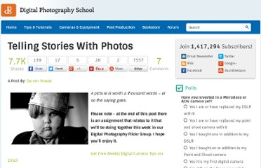 http://digital-photography-school.com/telling-stories-with-photos