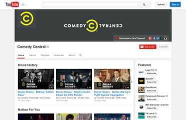 http://www.youtube.com/user/comedycentral