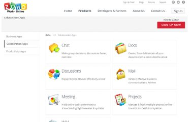 http://www.zoho.com/collaboration-apps.html
