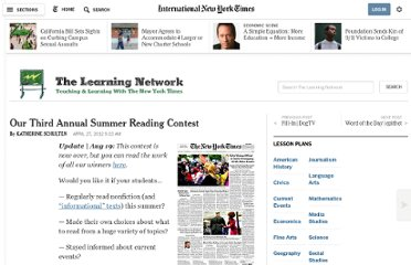 http://learning.blogs.nytimes.com/2012/04/27/our-third-annual-summer-reading-contest/
