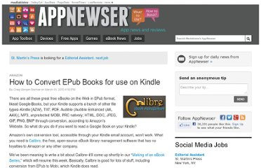 http://www.mediabistro.com/appnewser/how-to-convert-epub-books-for-use-on-kindle_b619