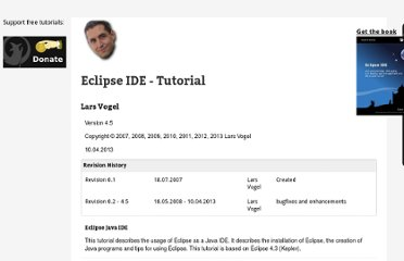 http://www.vogella.com/articles/Eclipse/article.html#updatemanager