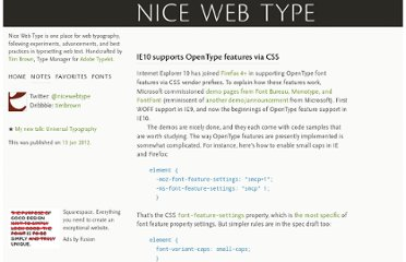 http://nicewebtype.com/notes/2012/01/13/ie10-supports-opentype-features-via-css/
