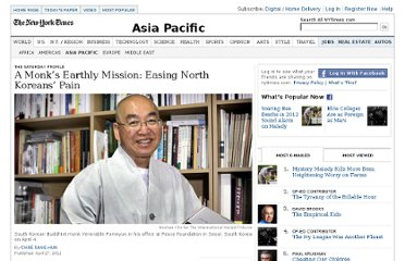 http://www.nytimes.com/2012/04/28/world/asia/venerable-pomnyuns-earthly-mission-is-to-aid-north-korea.html?nl=todaysheadlines&emc=edit_th_20120428