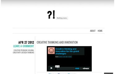 http://onmyne.wordpress.com/2012/04/27/creative-thinking-and-innovation/